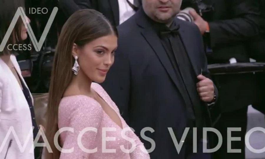 Hoa hậu Iris Mittenaere Cannes 2019