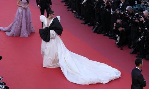 Váy quá khổ được ưa chuộng ở Cannes 2019 - ảnh 5