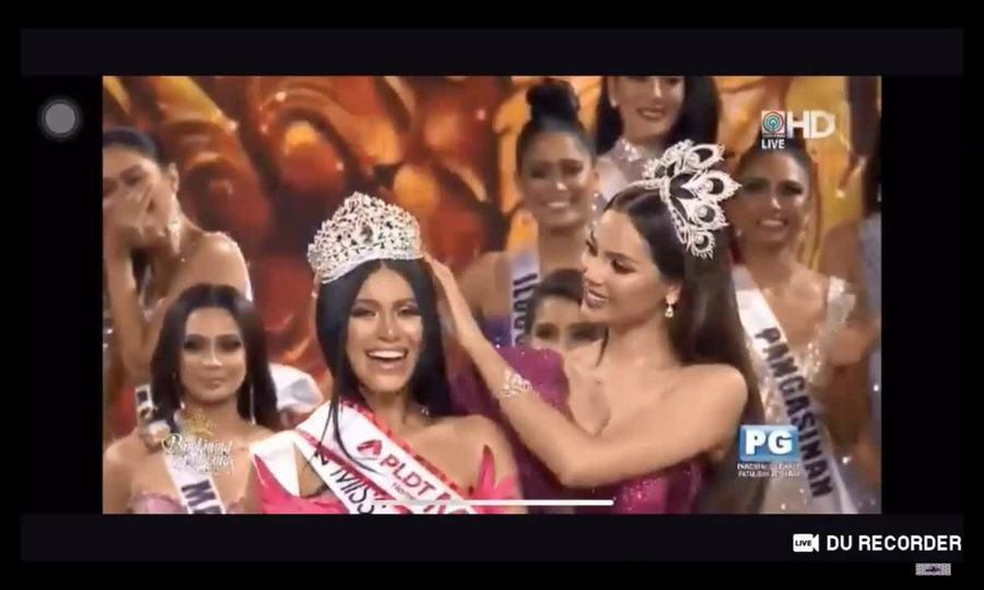 Khoảnh khắc Gazini Ganados - Hoa hậu Hoàn vũ Philippines 2019 đăng quang