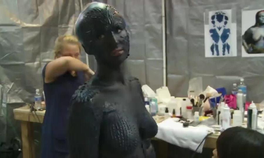 Hậu trường Jennifer Lawrence đóng Mystique