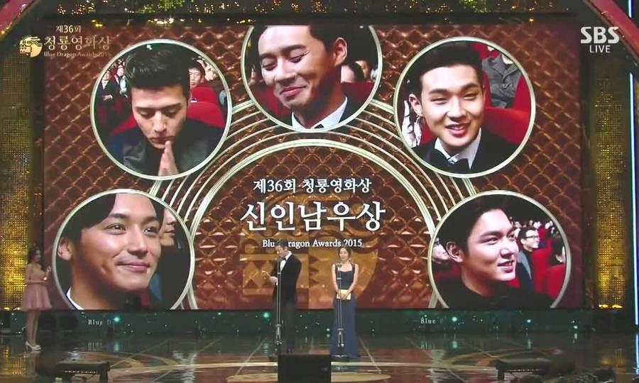 Choi Woo Sik nhận giải năm 2015