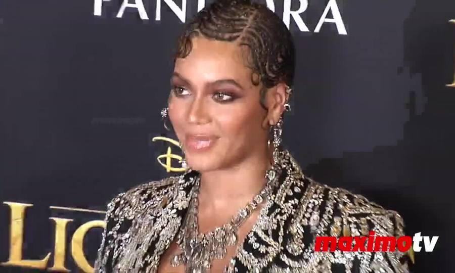 Beyonce ở buổi ra mắt phim The Lion King 2019