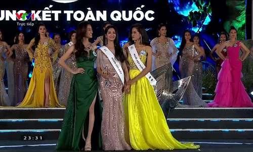 Lương Thùy Linh đăng quang Hoa hậu Thế giới Việt Nam 2019