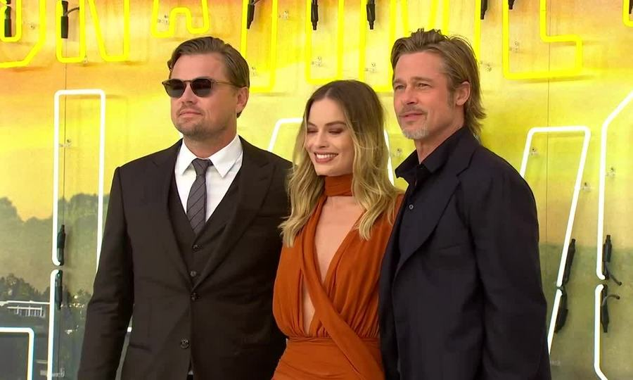 Margot Robbie ở buổi ra mắt Once Upon A Time In Hollywood