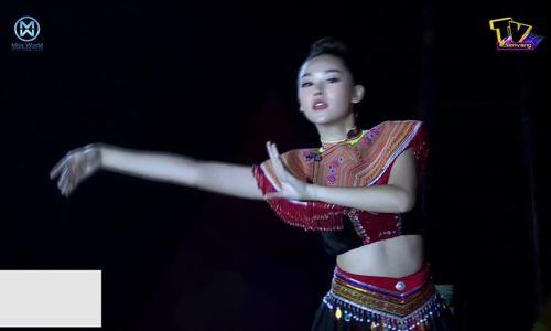 Tường San thi nhảy trong Miss World Vietnam