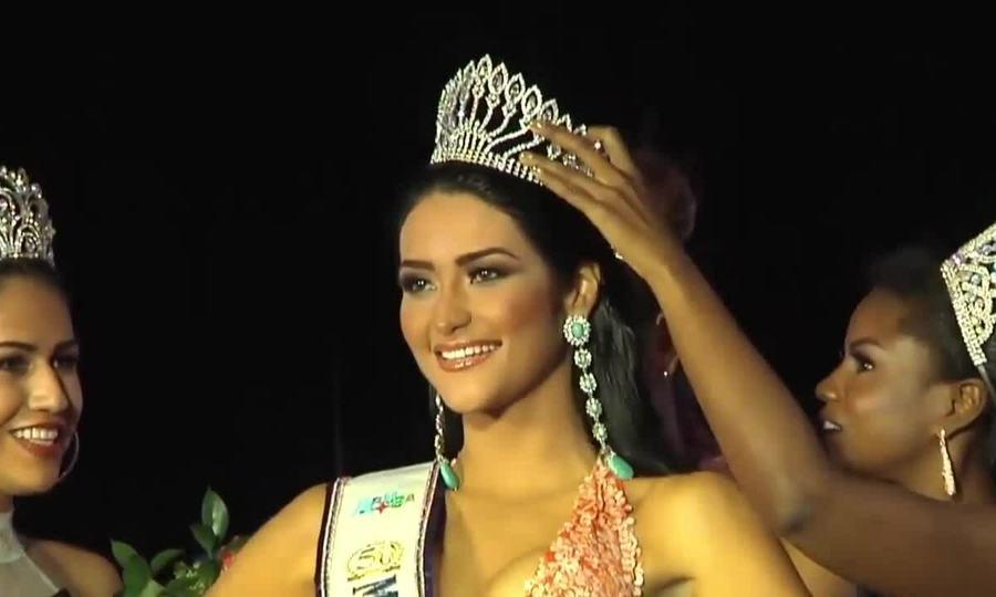 Danna Garcia đăng quang Hoa hậu Aruba