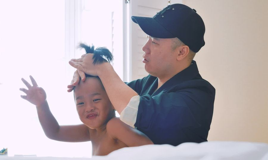 Đỗ Mạnh Cường tổ chức sinh nhật cho con gái Linh Đan