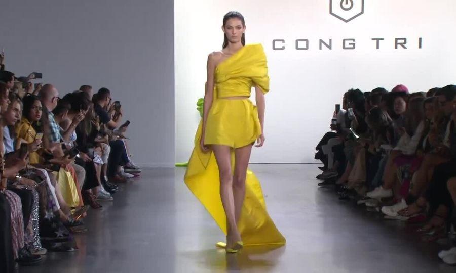 Công Trí New York Fashion Week 2019