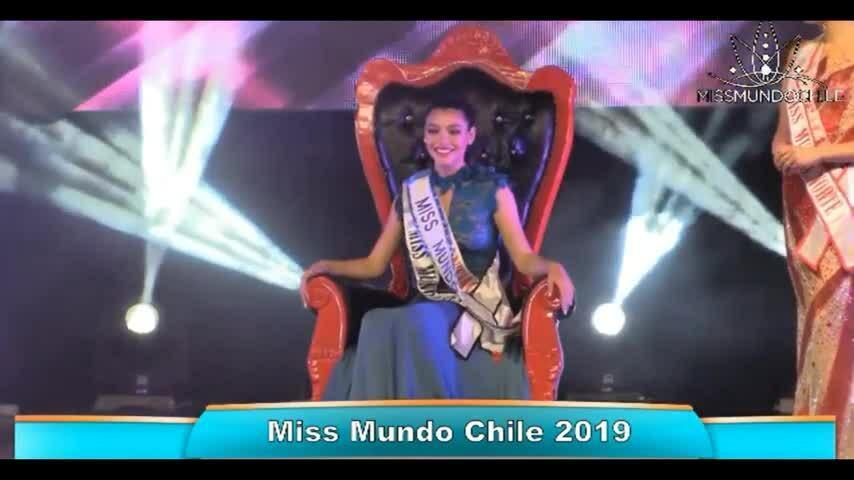 Ignacia Albornoz - Hoa hậu Thế giới Chile 2019