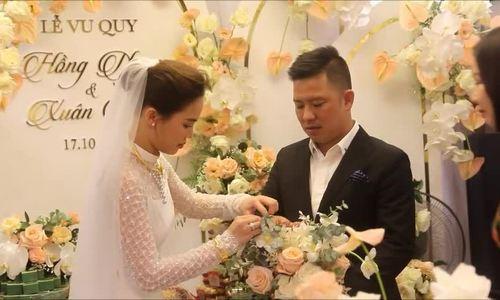 Hai con xuất hiện trong lễ cưới Giang Hồng Ngọc - ảnh 17