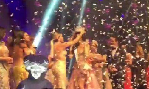 Kelin Rivera hoa hậu hoàn vũ Peru đăng quang