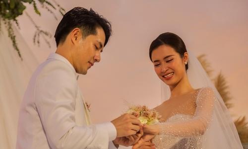 Tiệc cưới nhiều nụ cười, nước mắt của Đông Nhi - ảnh 3