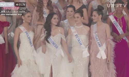 Hoa hậu Quốc tế 2019 Sireethorn Leigharamwat đăng quang