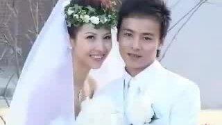 Vợ chồng Thái Thiếu Phân ngày cưới