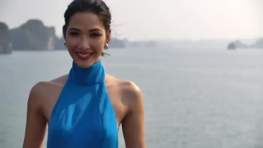 Miss Universe giới thiệu Hoàng Thùy