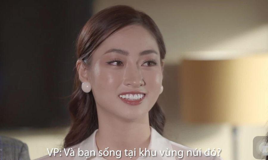 Lương Thùy Linh thi vấn đá MW
