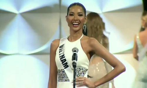 Hoàng Thùy dừng chân ở Top 20 Hoa hậu Hoàn vũ - ảnh 3
