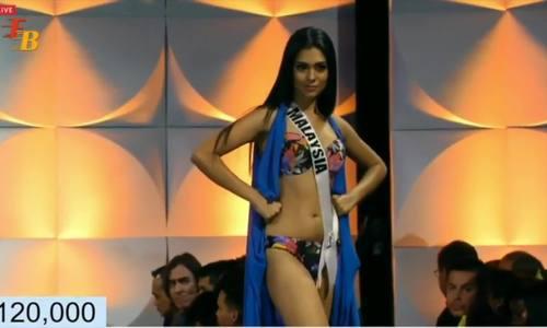 Nhiều người đẹp vấp ngã khi thi Miss Universe - ảnh 1