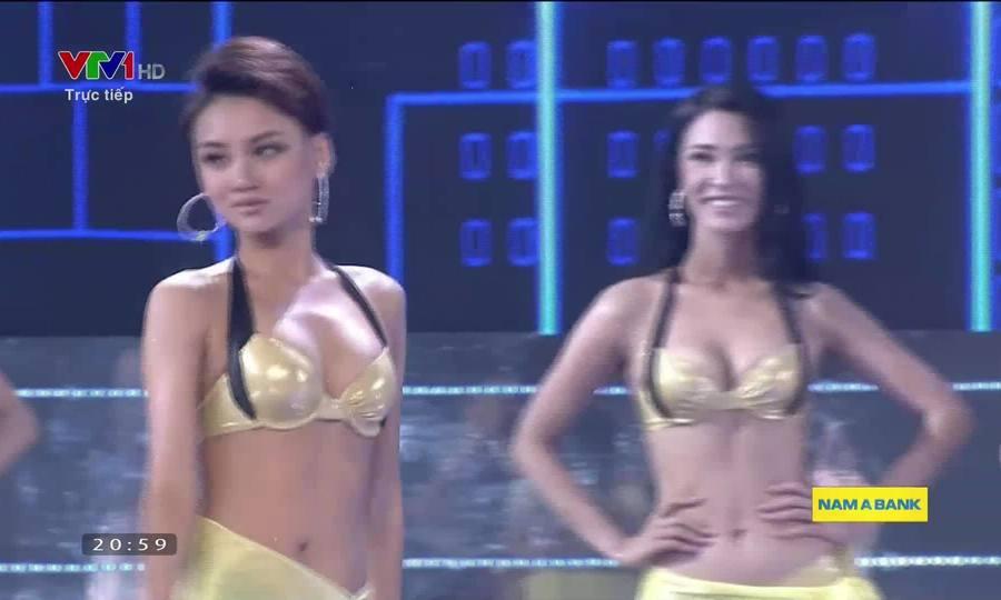 Top 15 Hoa hậu Hoàn vũ Việt Nam thi áo tắm
