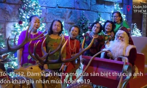 Fan tham quan hang đá Noel ở nhà Đàm Vĩnh Hưng - ảnh 1