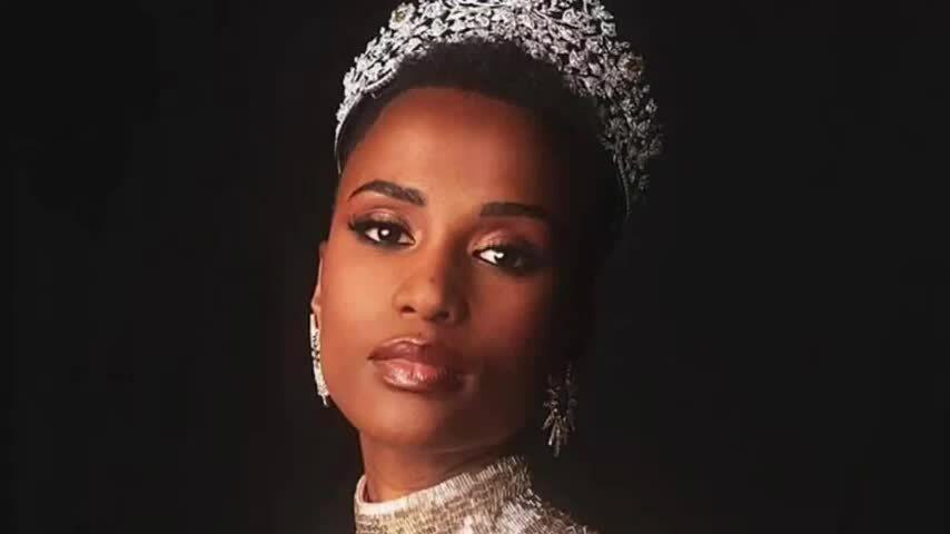 Màn trình diễn của Zozibini Tunzi tại chung kết Miss Universe 2019