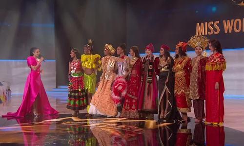 Chung kết Miss World: Lương Thùy Linh dừng chân ở Top 12 - ảnh 6