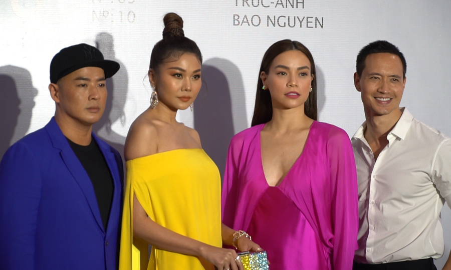 Dàn sao hội tụ dự triển lãm thời trang Công Trí