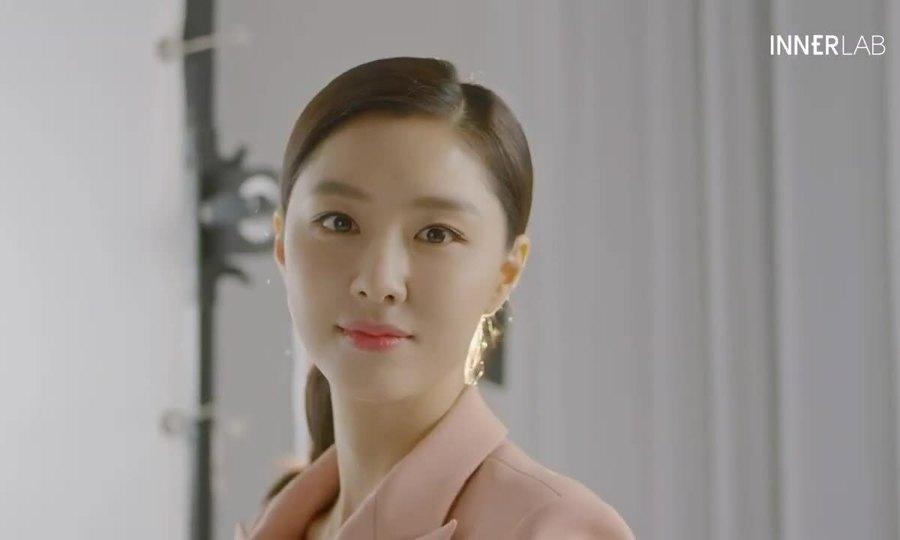 Seo Ji Hye đóng quảng cáo