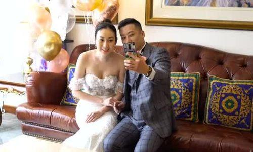 Trang Tư Mẫn ngày cưới
