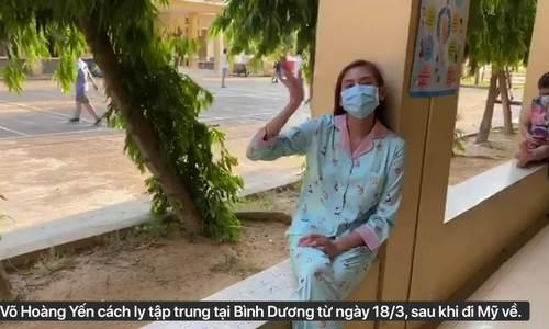 Võ Hoàng Yến, Châu Bùi kể cuộc sống cách ly tập trung