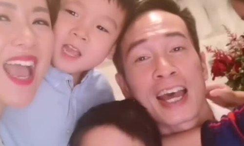 Gia đình Trần Hào làm bánh