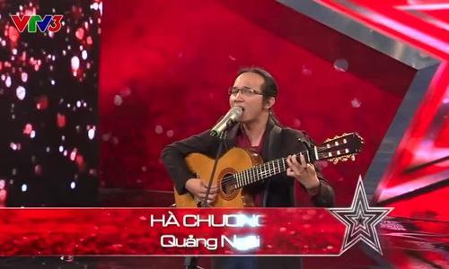 Hà Chương hát 'Cõng mẹ đi chơi' ở Vietnam's Got Talent 2014