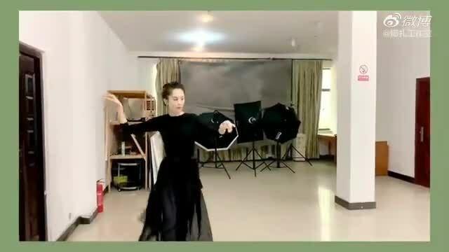 Na Trát luyện múa đóng phim