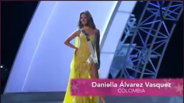 Daniella Álvarez tại Miss Universe 2012