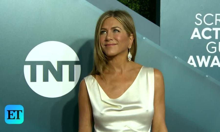 Jennifer Aniston ở SAGs 2020
