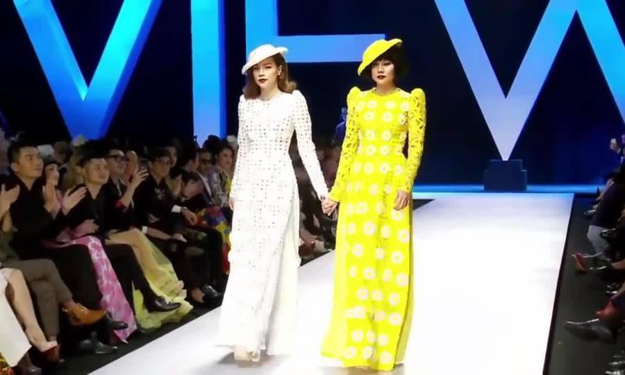 Thanh Hằng, Hà Hồ ở show Công Trí năm 2018