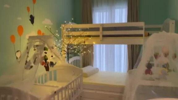 Dương Khắc Linh trang trí phòng cho em bé