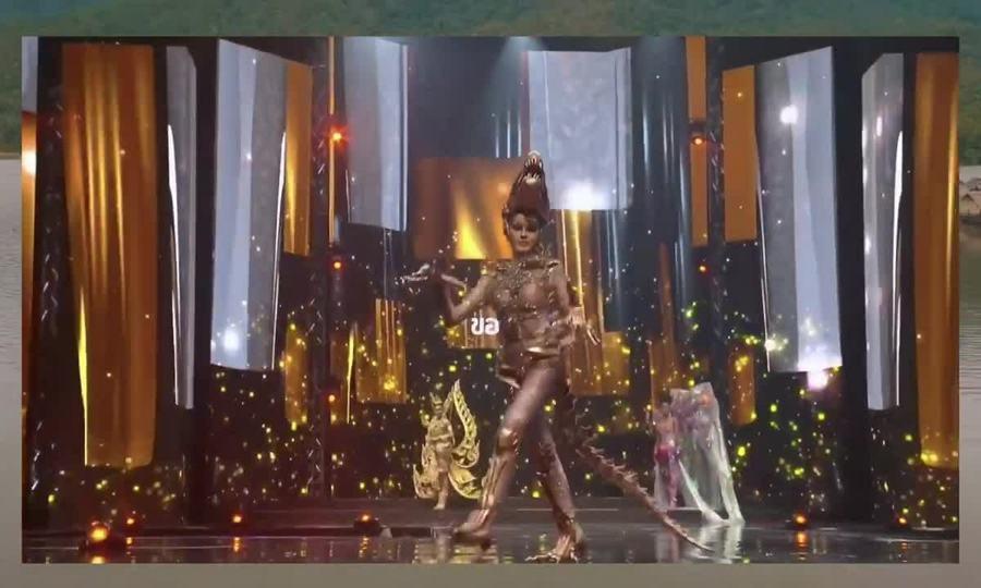Trích đoạn màn diễn trang phục dân tộc của các thí sinh Miss Grand Thailand 2020. Video: MGT.