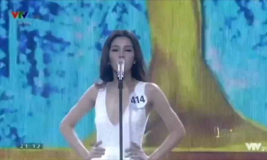 Mỹ Duyên thi bán kết Hoa hậu Hoàn vũ Việt Nam 2017