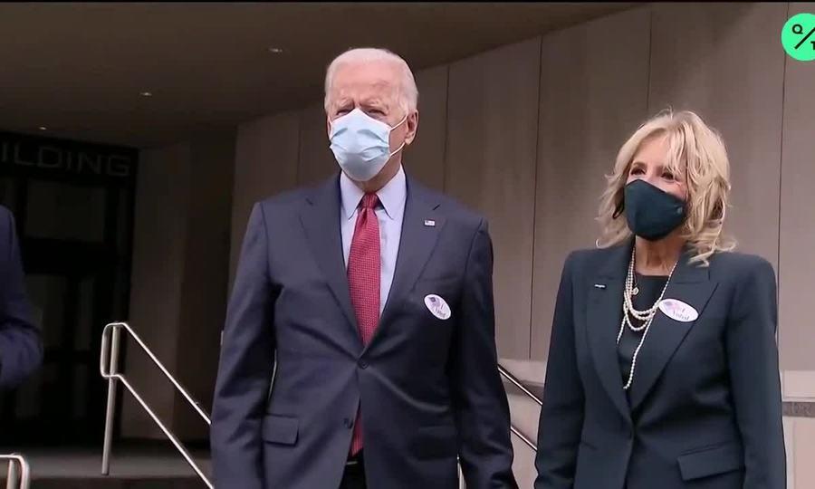 Vợ chồng Joe Biden ở Delaware