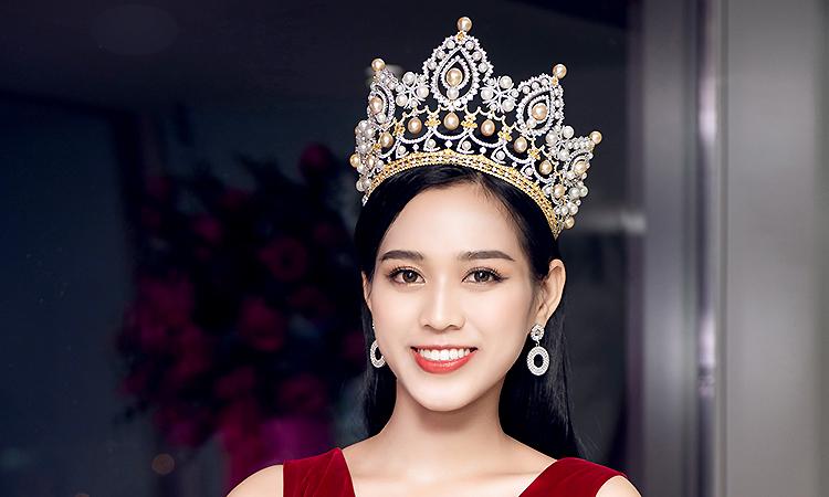 Hoa hậu Đỗ Thị Hà: 'Tôi rèn tính cách khi cấy lúa với mẹ'