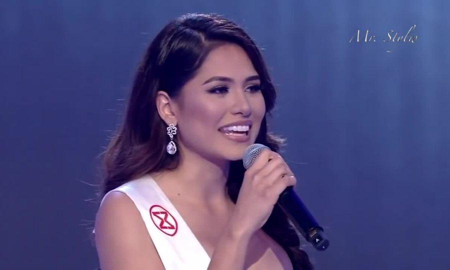 Phần thể hiện của Andrea Meza tại Miss World 2017. Video: Miss World