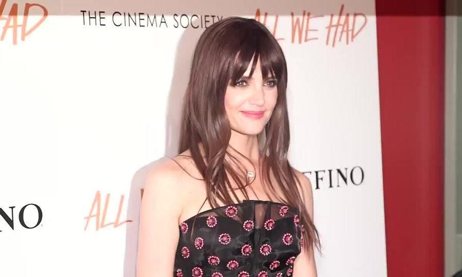 Thời trang thảm đỏ của Katie Holmes