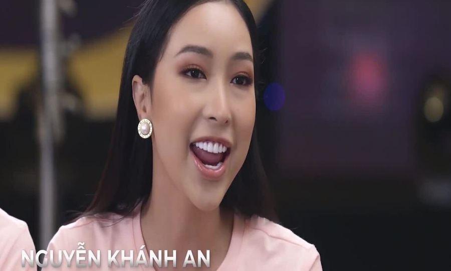 Khánh An trình bày dự án cộng đồng