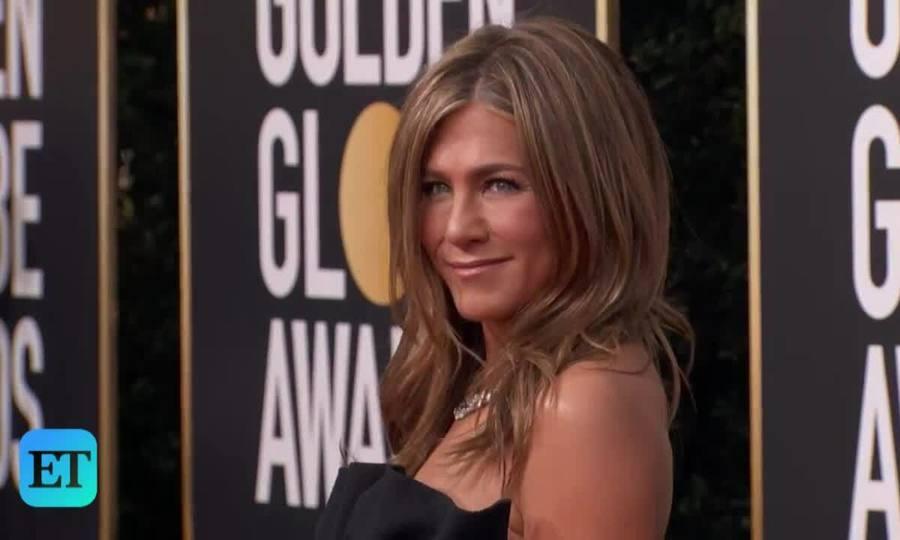 Jennifer Aniston ở Quả Cầu Vàng 2020