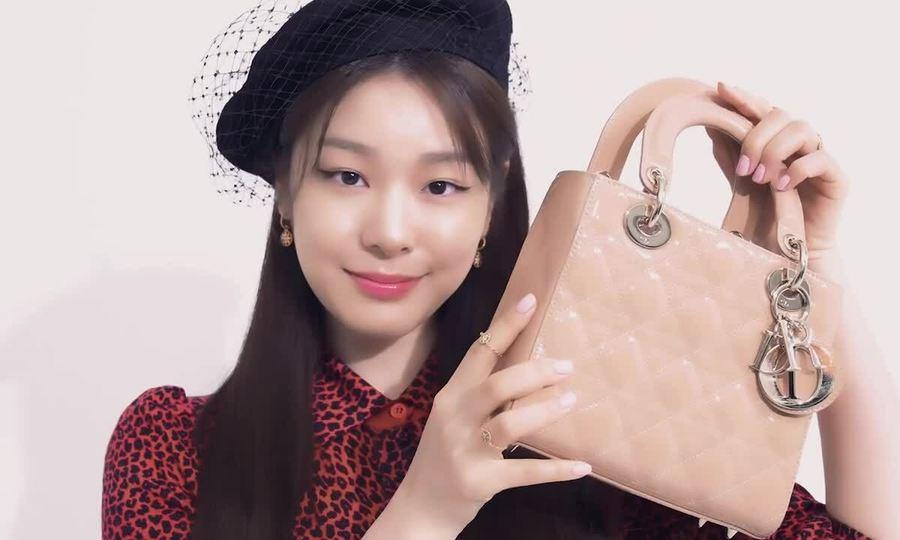 Kim Yuna chụp ảnh thời trang