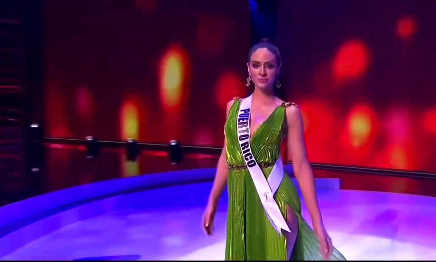 Hoa hậu Hoàn vũ Puerto Rico 2020 diễn ở bán kết Miss Universe