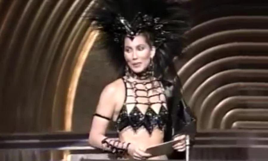 Cher ở Oscar 1986