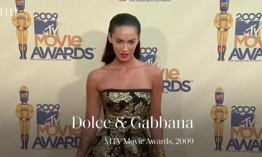 Thời trang thảm đỏ của Megan Fox