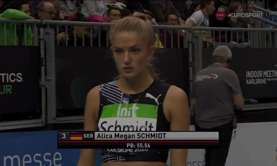 Alica Schmidt - vận động viên điền kinh tuyển Đức